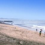 Surfing in Echo Beach